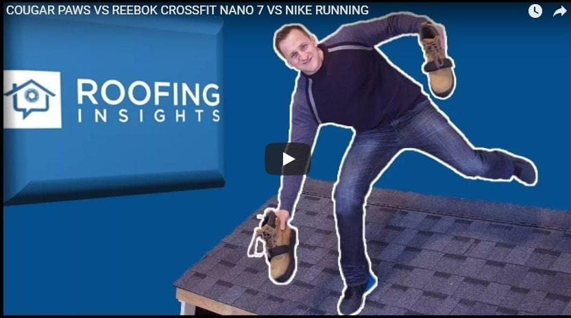What is the Best Shoe for Roofers: Cougar Paws, Reebok Cross-Fit, or Nike Running?