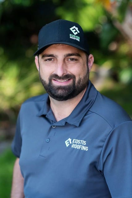 Jason Reisman is the owner of Eustis Roofing