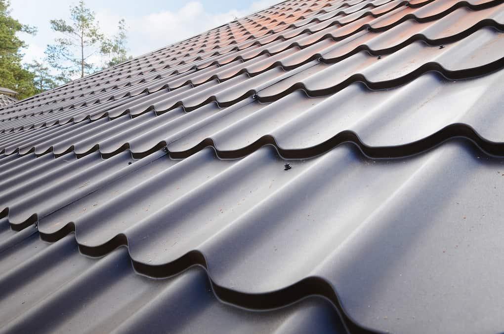 stamped metal roofing